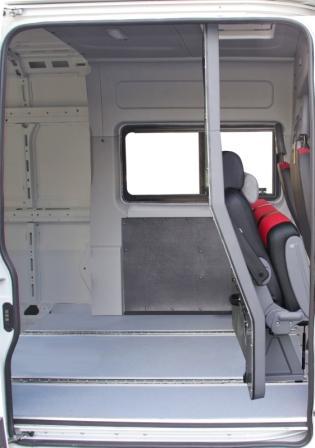 """Положение трансформации """"грузовой фургон"""" Фиат Дукато."""